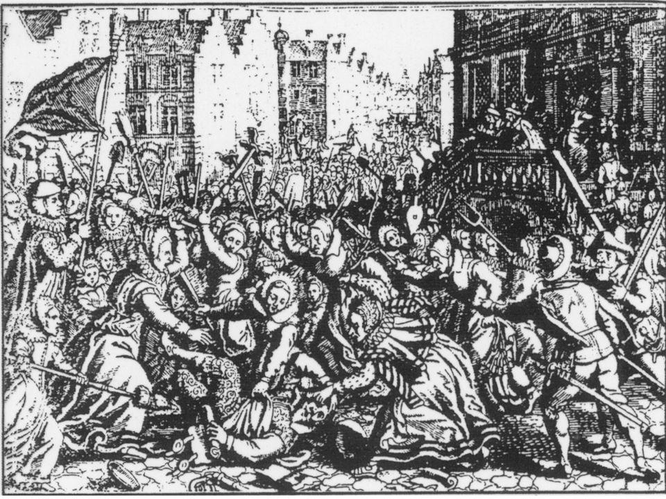 Rellen in Frankrijk.1830-1960 Aantal rellen per 5 jaar vier eeuwen rellen Rellen in Holland.