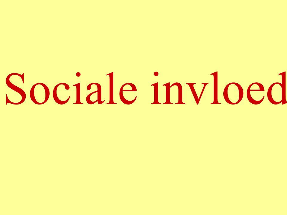 Sociale invloed