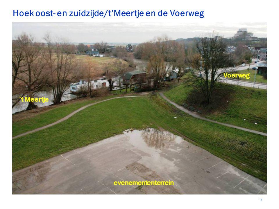Hoek oost- en zuidzijde/t'Meertje en de Voerweg 't Meertje Voerweg evenemententerrein 7