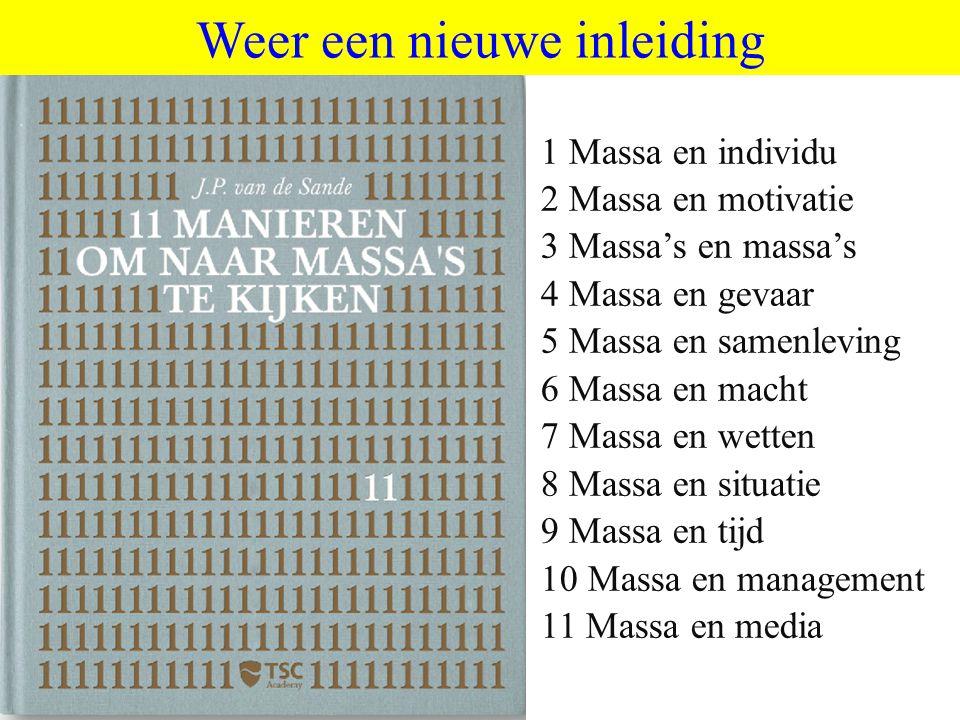 ©vandeSandeinlezingen,2011 Uiteindelijk model