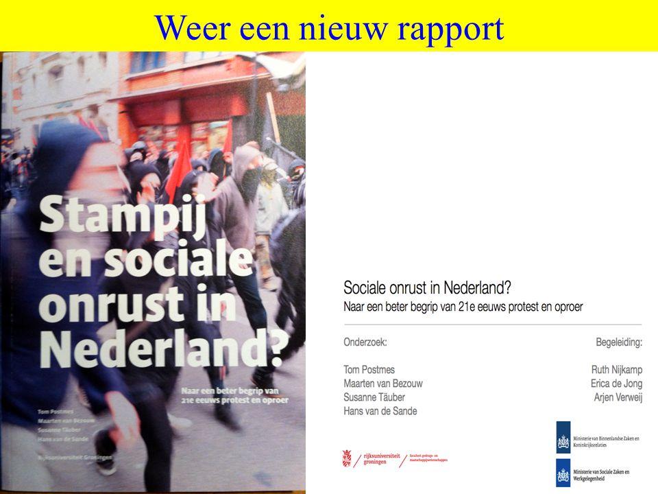 ©vandeSandeinlezingen,2011 Weer een nieuw rapport