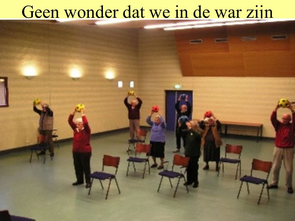 Geen wonder dat we in de war zijn