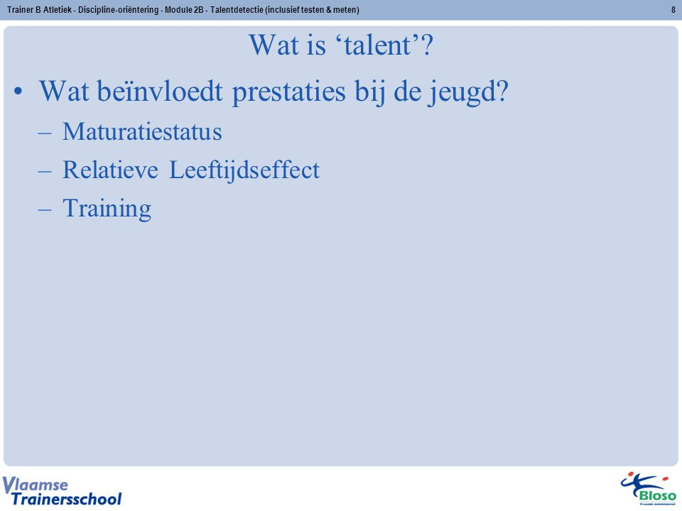 Trainer B Atletiek - Discipline-oriëntering - Module 2B - Talentdetectie (inclusief testen & meten)9 67 8 9101112 131415 SL > CL SL < CL Gemiddeld verschil SL-CL Attributes of the radiographic standard of reference for the National Health Examination Survey.Attributes of the radiographic standard of reference for the National Health Examination Survey.
