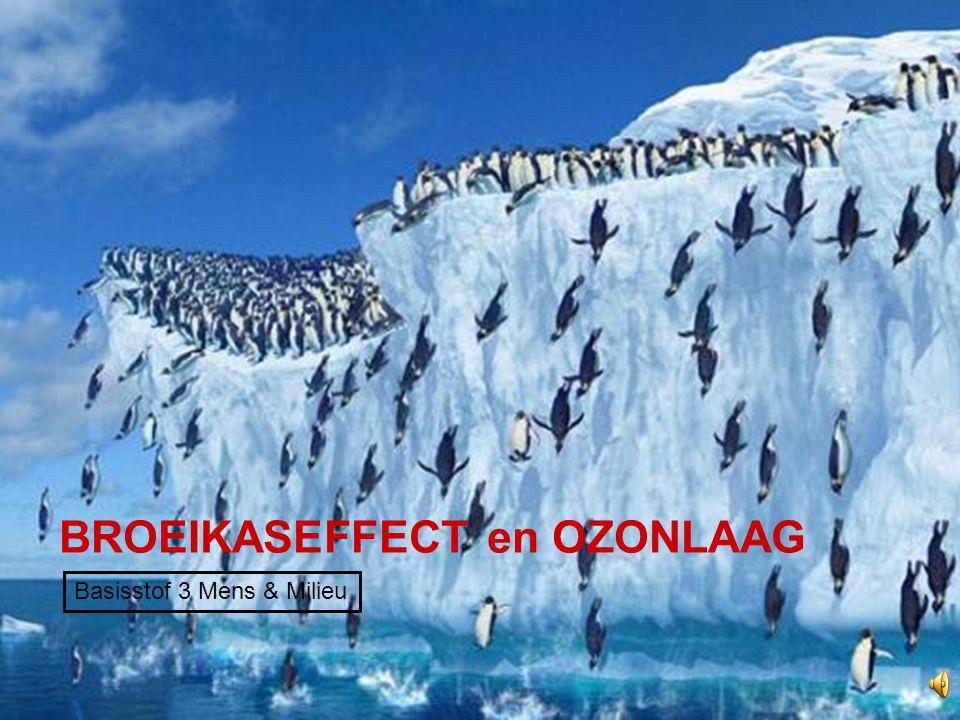 BROEIKASEFFECT en OZONLAAG Basisstof 3 Mens & Milieu