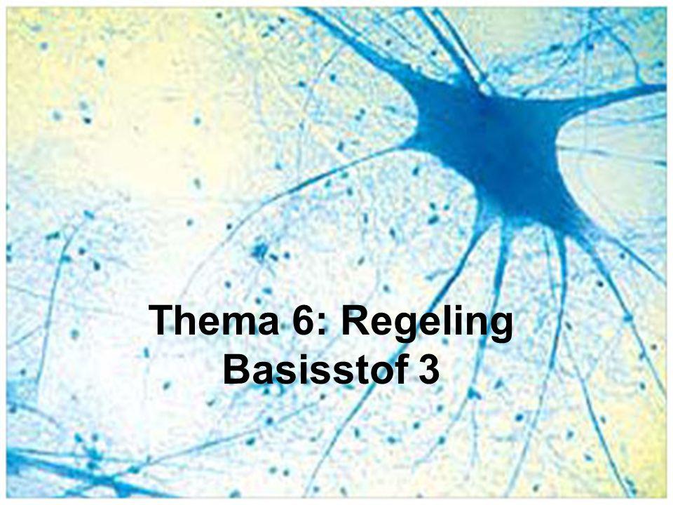Thema 6: Regeling Basisstof 3