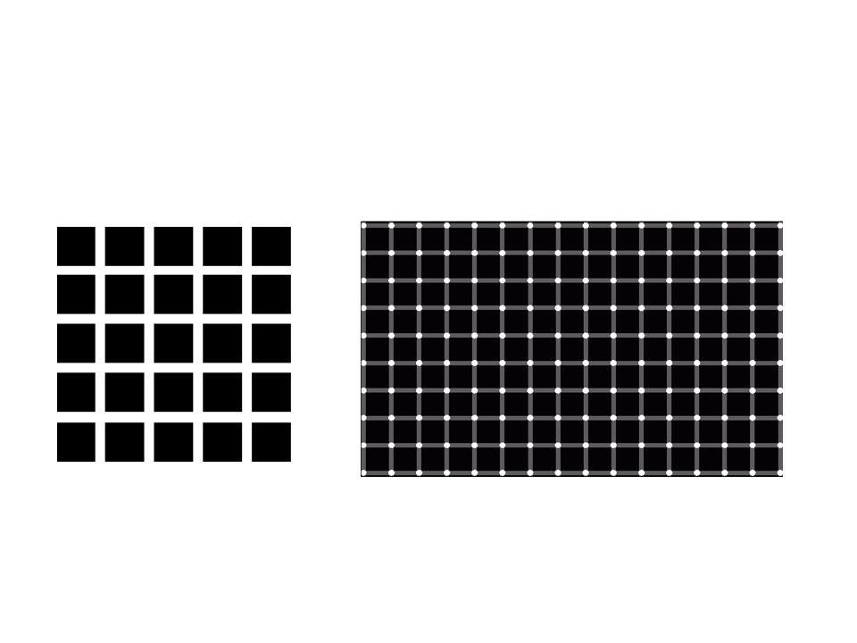 Blijf naar de blauwe stip in het midden van de afbeelding staren.