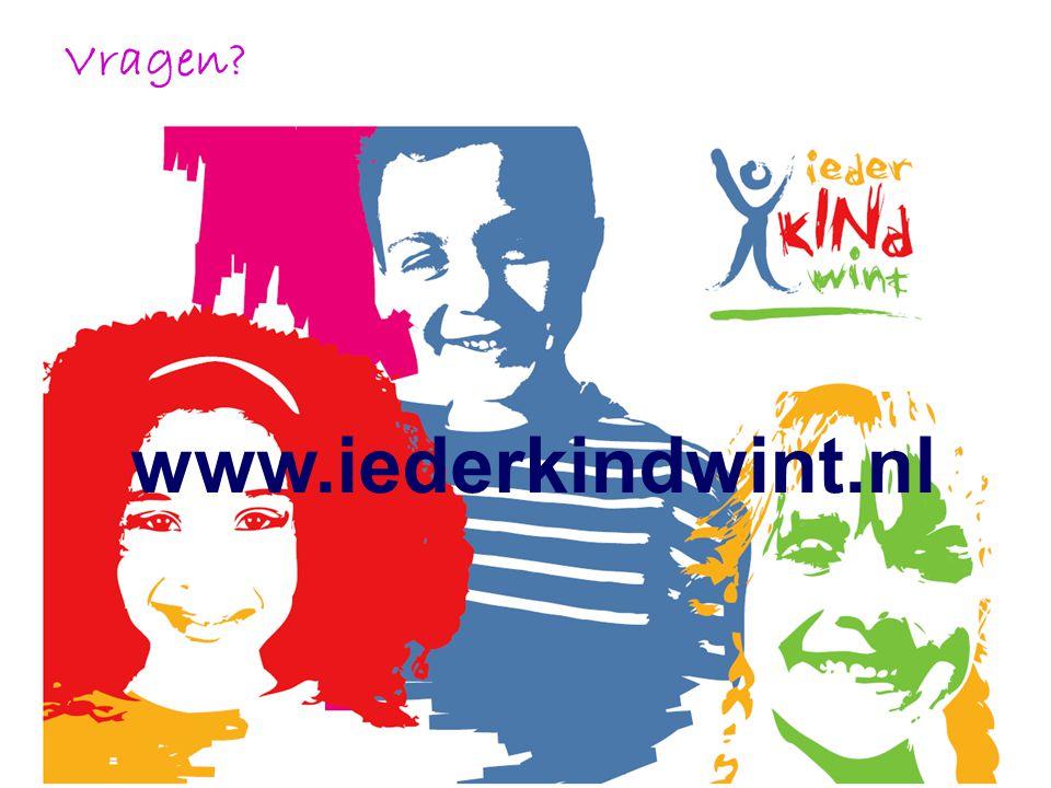 Vragen? www.iederkindwint.nl