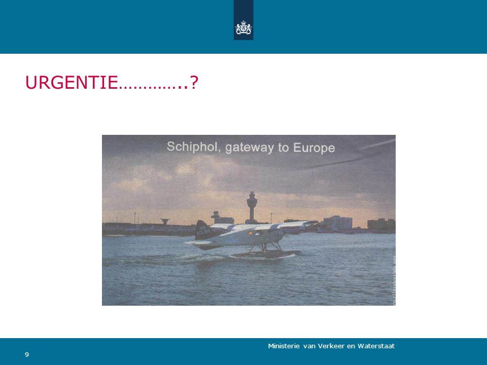 Ministerie van Verkeer en Waterstaat VIER ALTERNATIEVEN 10