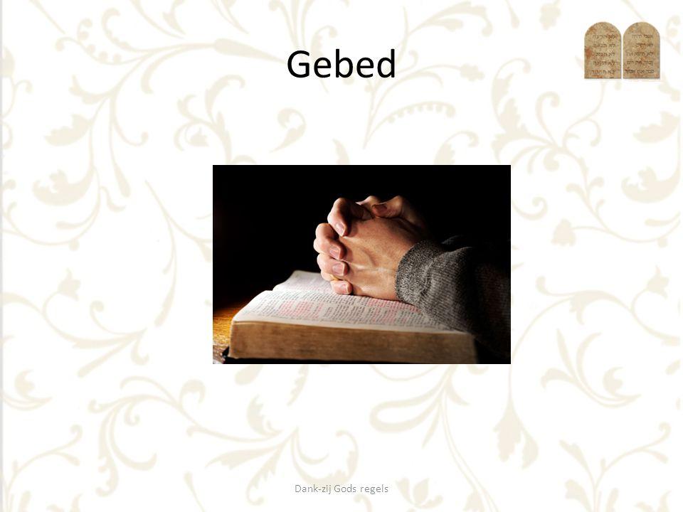 Zingen OTH 148 Dank-zij Gods regels God wijst mij een weg als ik zelf geen uitkomst zie.