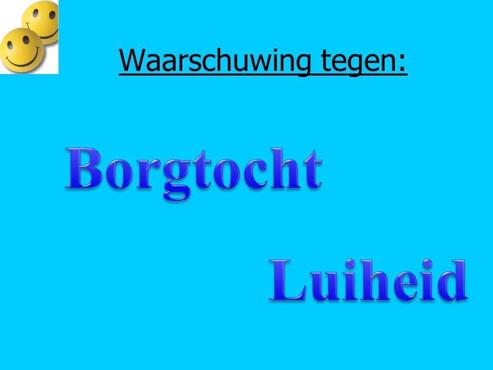 Borgtocht Wat is een borg.Wie is jouw borg. Wat betekent dat voor jou.