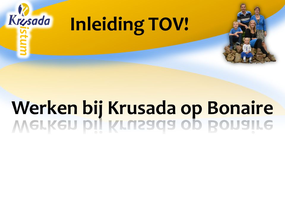 Inleiding TOV!