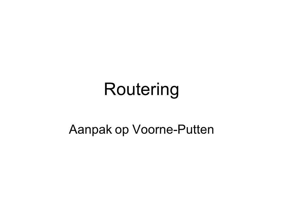 Routering Aanpak op Voorne-Putten