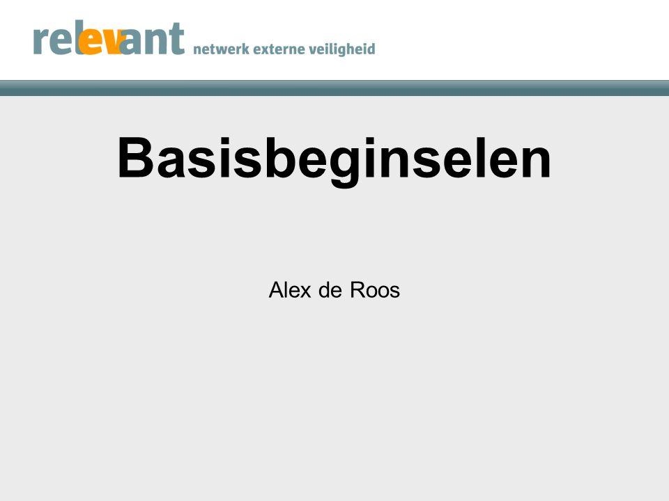 4 VB-situaties Alex de Roos Rogier Wegerif