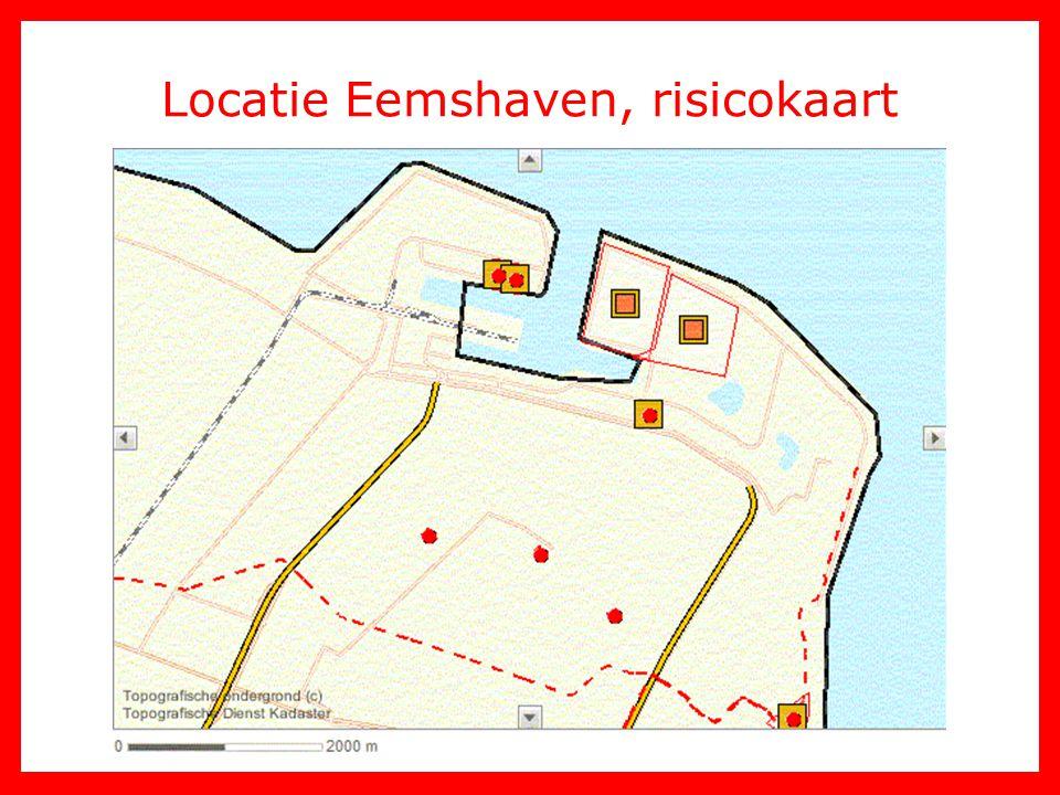 Locatie Eemshaven, risicokaart