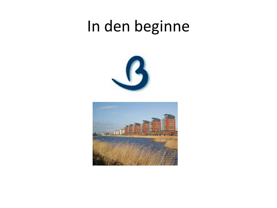 In den beginne