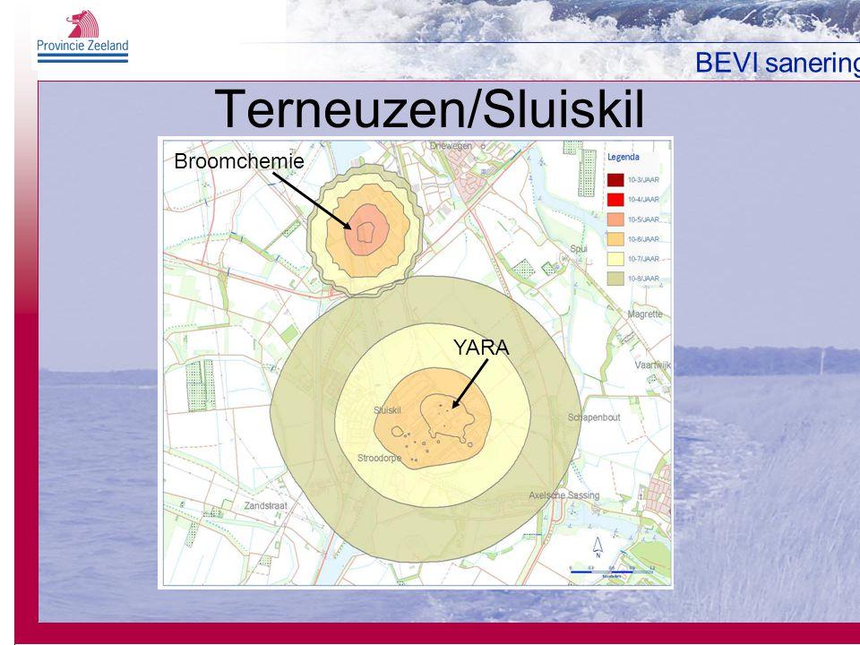 BEVI sanering Terneuzen/Sluiskil Broomchemie YARA