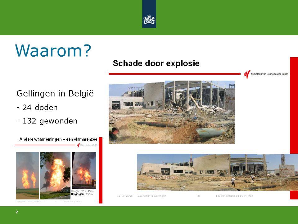 2 Waarom? Gellingen in België - 24 doden - 132 gewonden