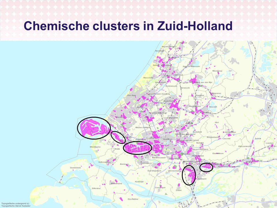 Chemische clusters in Zuid-Holland