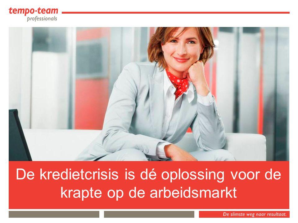 Nederland's nummer 2 op de arbeidsmarkt 300 vestigingen, 2200 medewerkers, 45.000 flexwerkers Deskundig in 8 branches Passie en vakmanschap Tempo-Team Professionals en Tempo-Team HR-Solutions Ik ben er eentje van…