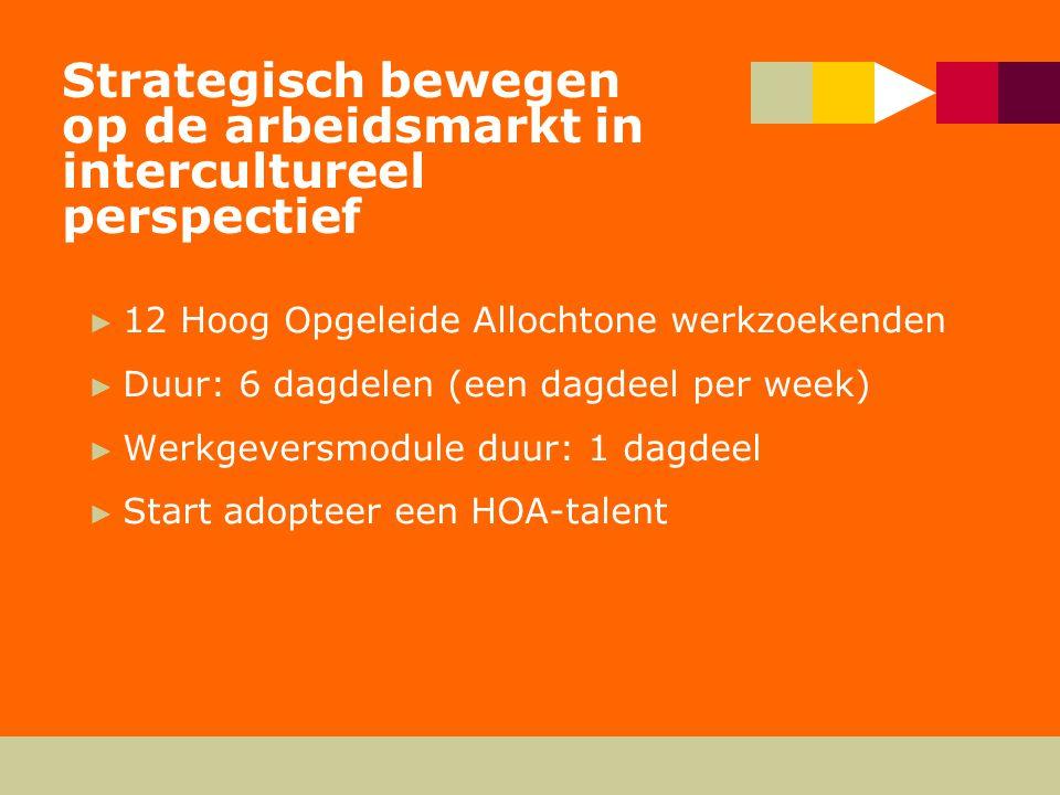 Talentenbank HOA ► HOA-bestand ► CWI-bestand ► Universiteiten/hbo-instellingen ► Studentenverenigingen ► externe partijen, o.a.