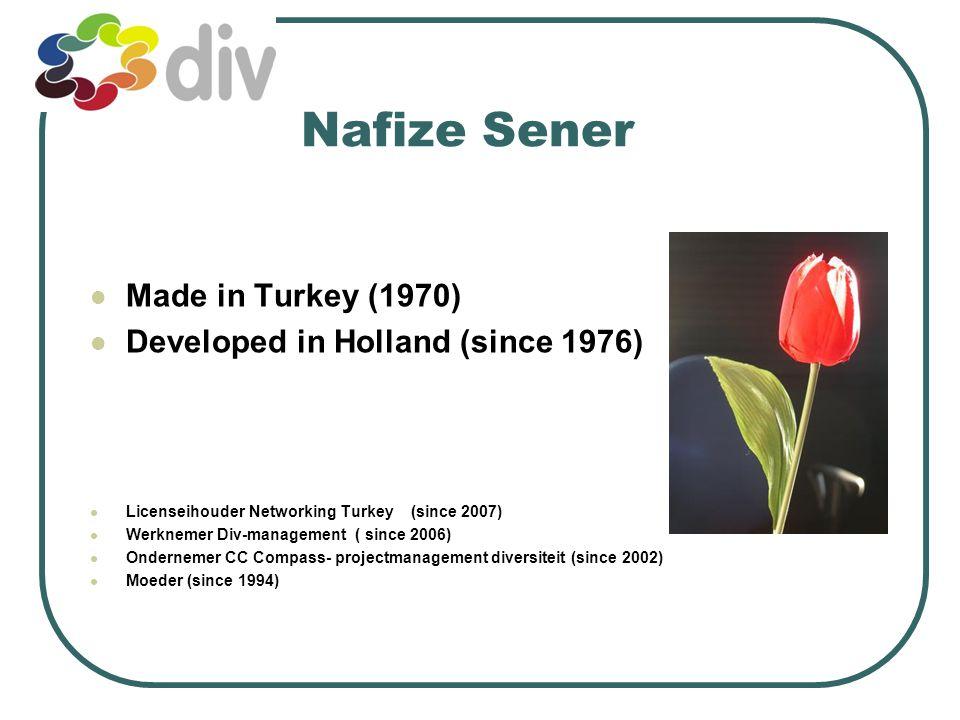 Diversiteit en kansen op de arbeidsmarkt Nafize Sener Het Landelijk Netwerk Diversiteitsmanagement 15 januari 2009