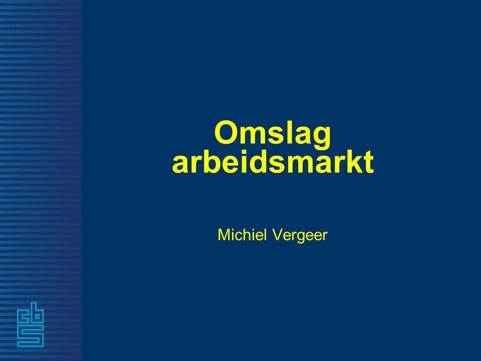 Omslag arbeidsmarkt Michiel Vergeer
