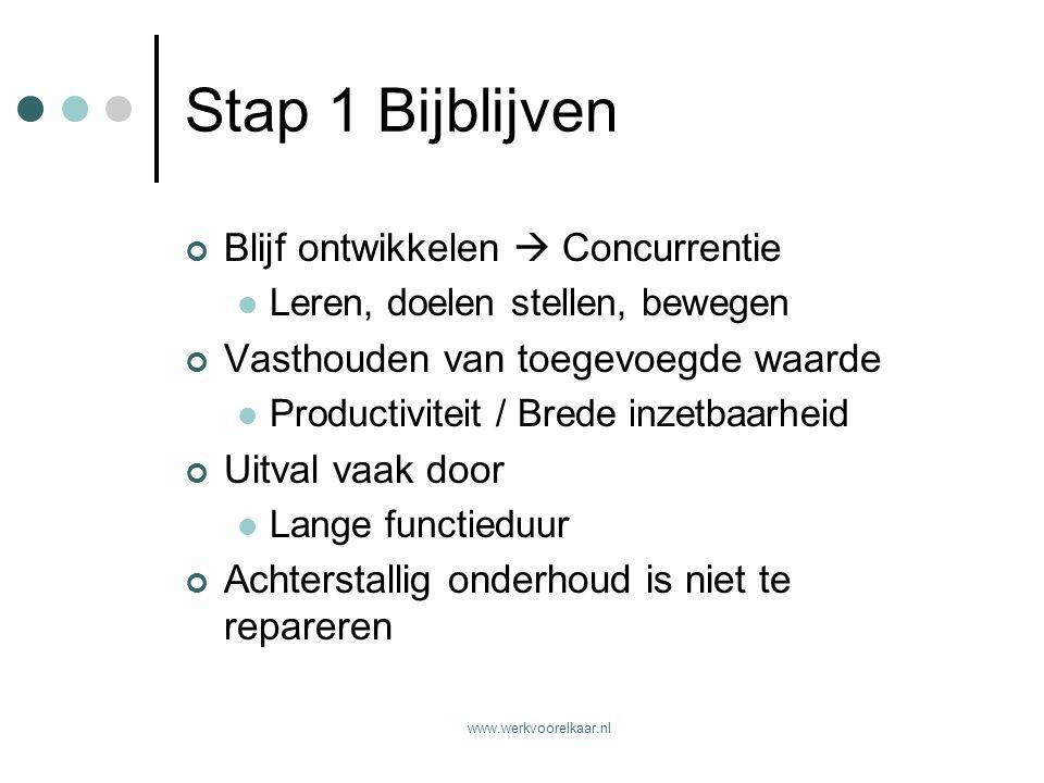 www.werkvoorelkaar.nl Stap 2 Ontzie niet Oud ≠ oud Waarom extra verlofdagen.
