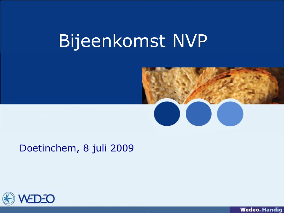 Bijeenkomst NVP Doetinchem, 8 juli 2009