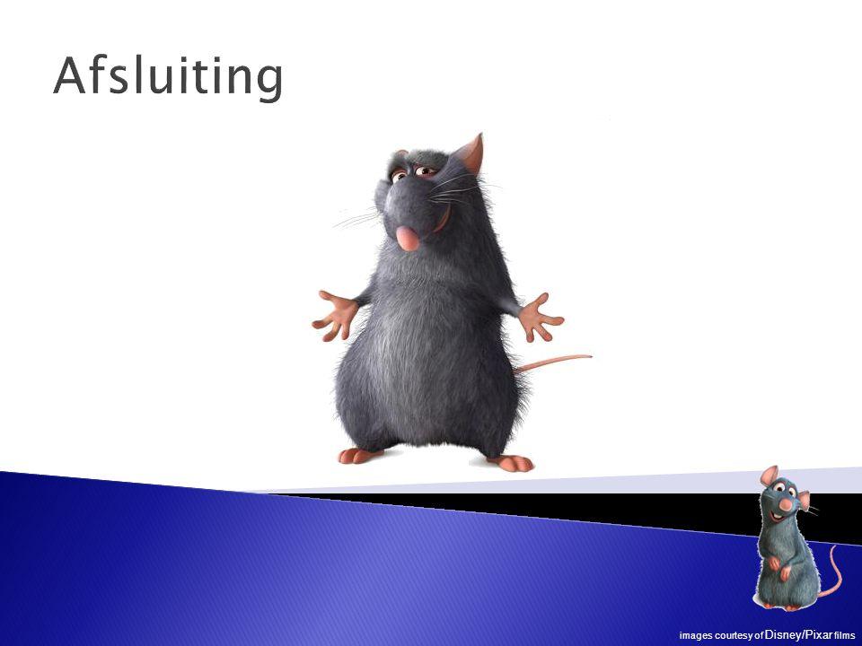 Afsluiting images courtesy of Disney/Pixar films
