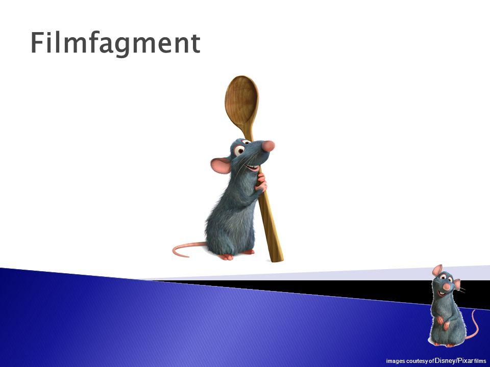 Filmfagment images courtesy of Disney/Pixar films