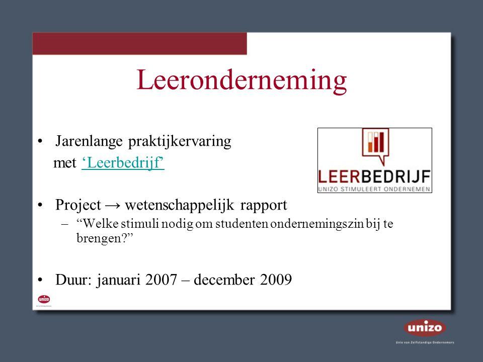 Ondernemerskoffer Pedagogisch instrument ter bevordering van ondernemingszin op lagere school West-Vlaanderen → heel Vlaanderen Start: najaar 2005, kruissnelheid 2007