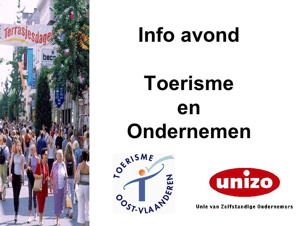 Info avond Toerisme en Ondernemen