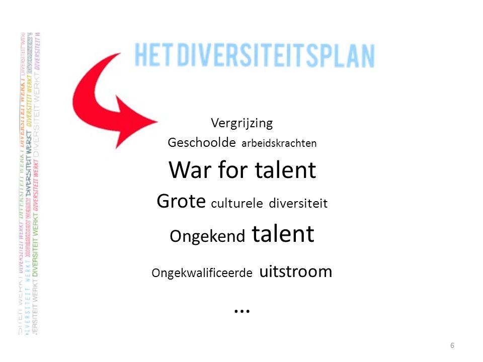 7 Wat is een diversiteitsplan? Inhoudelijke, logistieke en financiële ondersteuning
