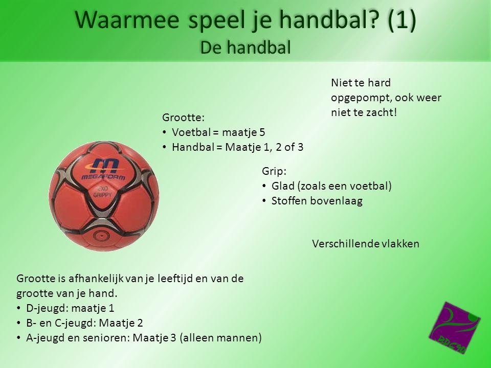 Hoe speel je handbal.