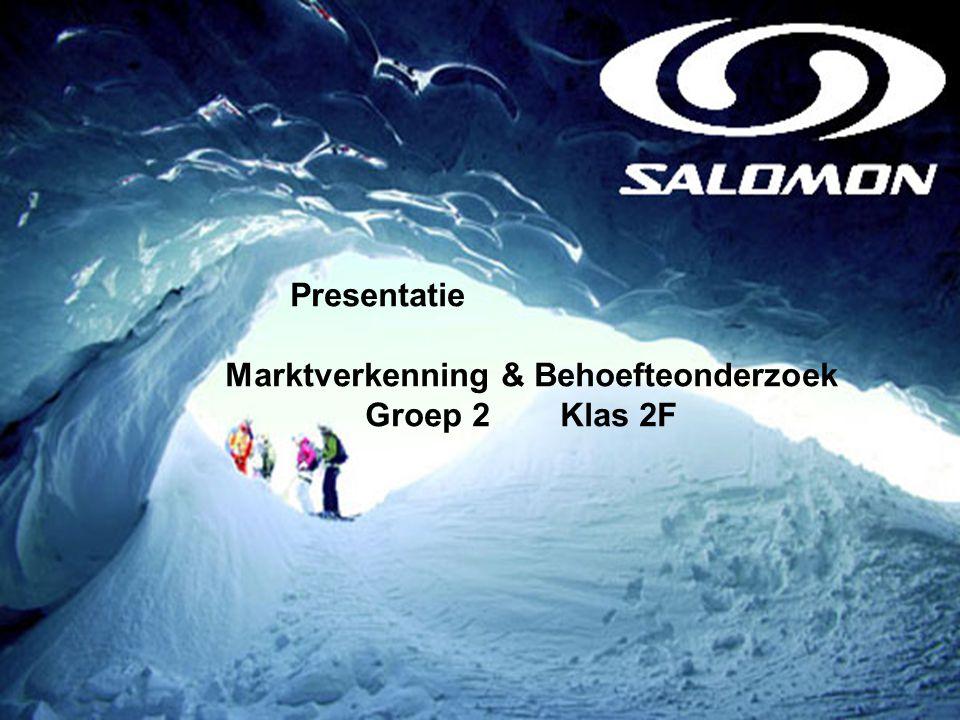 Presentatie Marktverkenning & Behoefteonderzoek Groep 2 Klas 2F