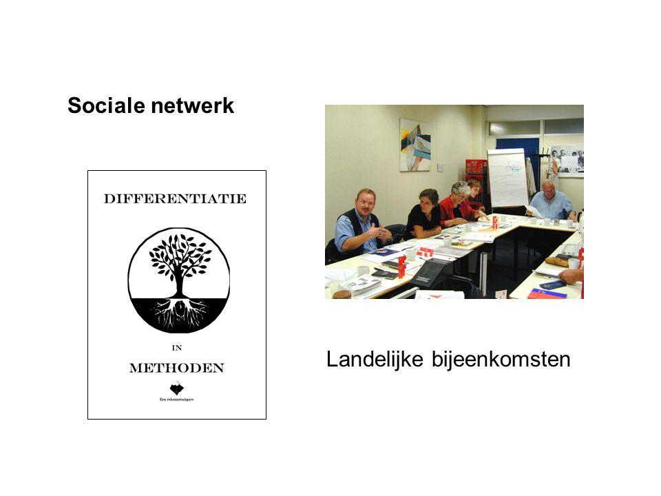 Sociale netwerk Landelijke bijeenkomsten