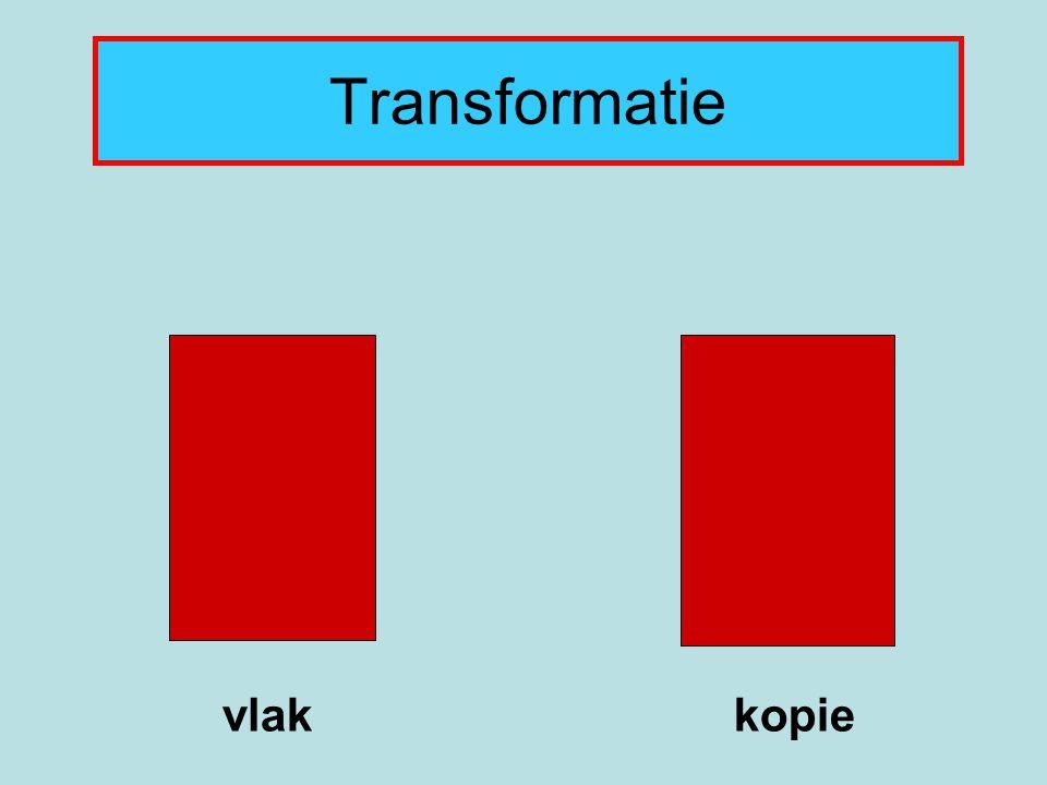 Transformatie vlak kopie