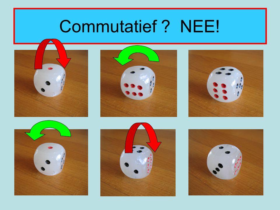 Commutatief ? NEE!