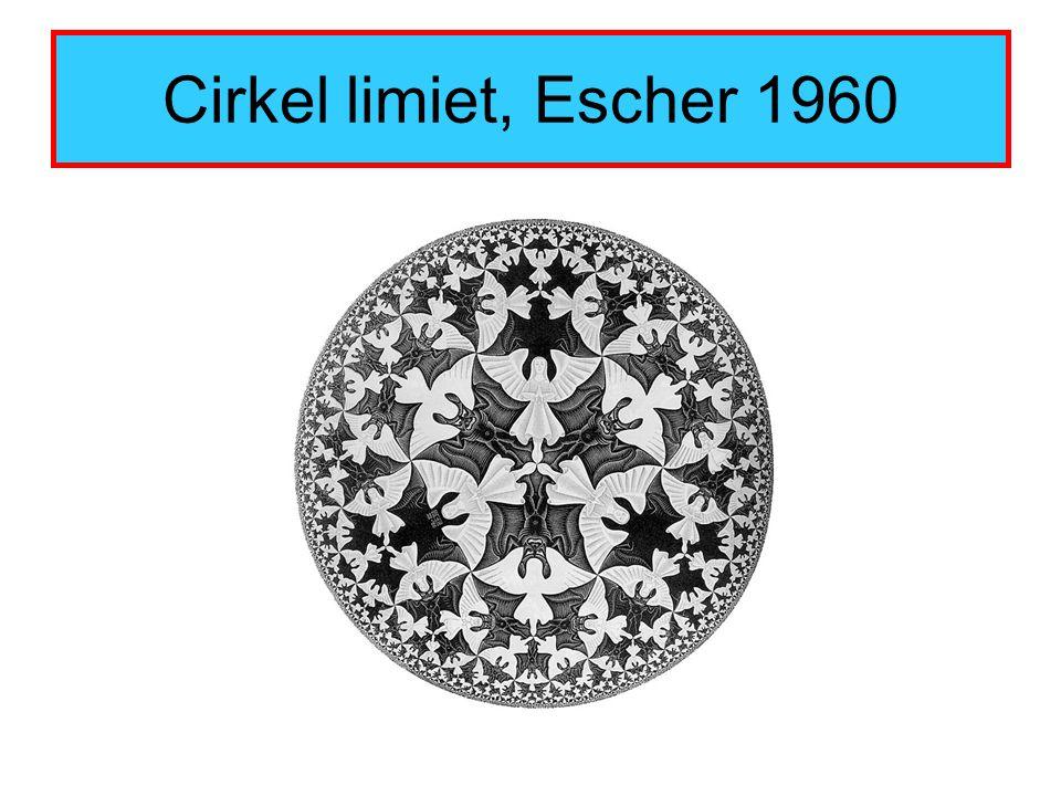Cirkel limiet, Escher 1960