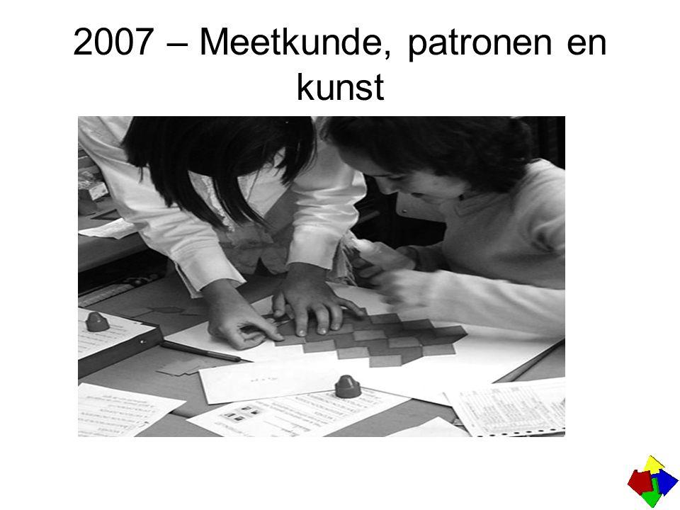 2007 – Meetkunde, patronen en kunst