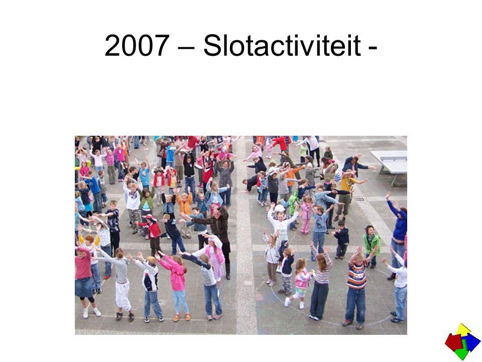 2007 – Slotactiviteit -