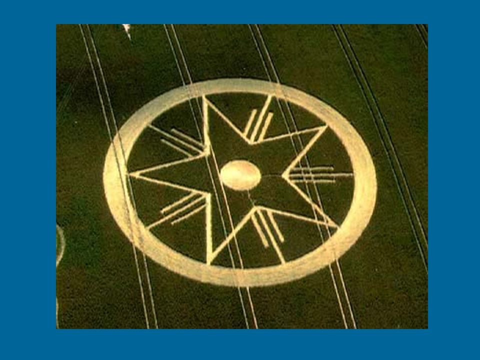 Vondst van de graancirkelexperts: Bijzondere ontmoeting van drie pentagrammen?