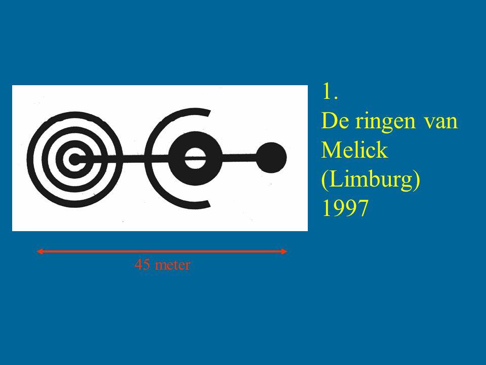A B C D E F G Stralen 7 cirkels A: 100 B: 210 C: 330 D: 470 E: 570 F: 720 G: 830 cm.