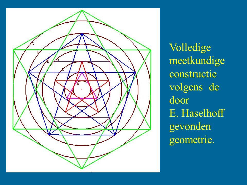 Haselhoff: Alle drie de ringen waren dus precies bepaald door alleen maar de doorsnede van de cirkel in het midden, met behulp van elementaire meetkundige vormen.