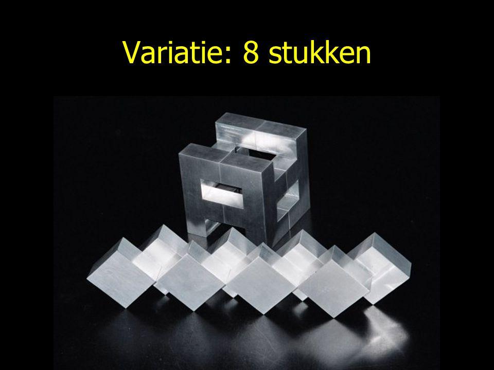 Variatie: 8 stukken