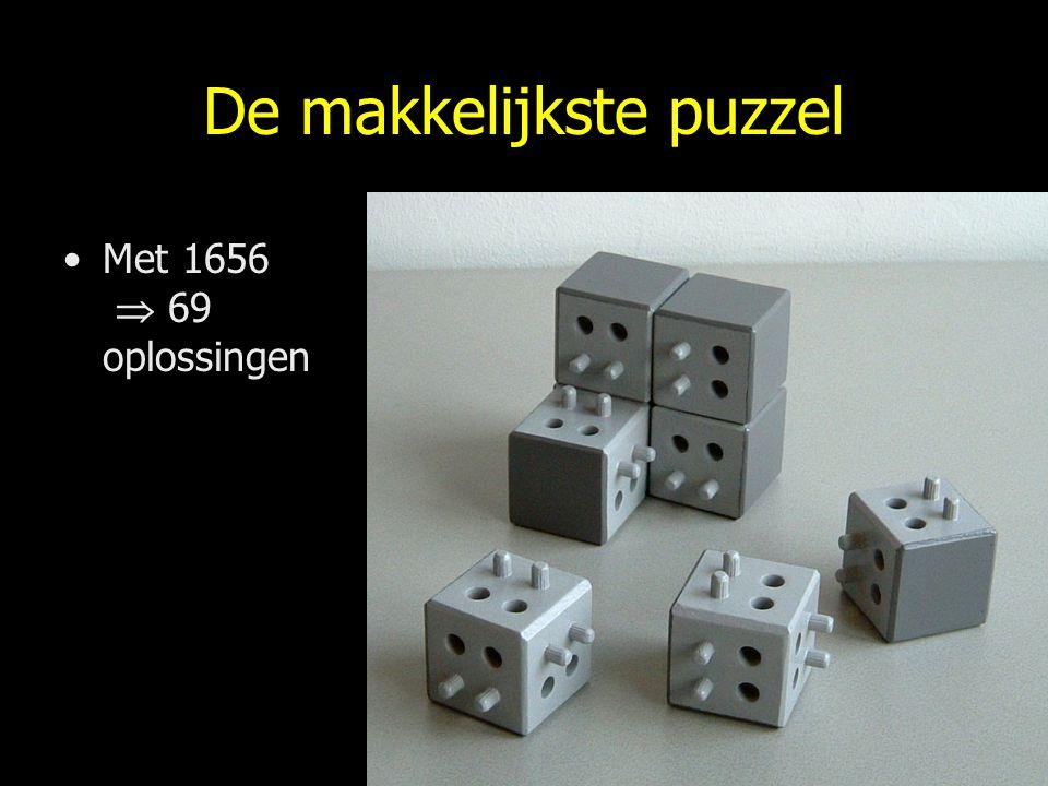 De makkelijkste puzzel Met 1656  69 oplossingen