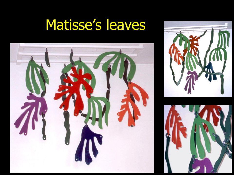 Matisse's leaves