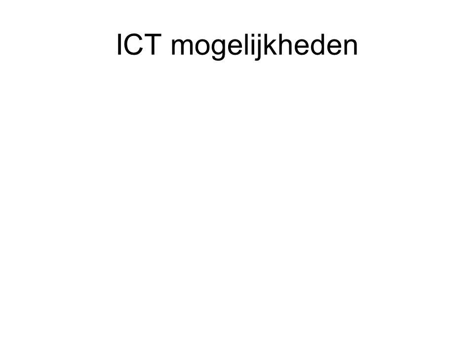 ICT mogelijkheden