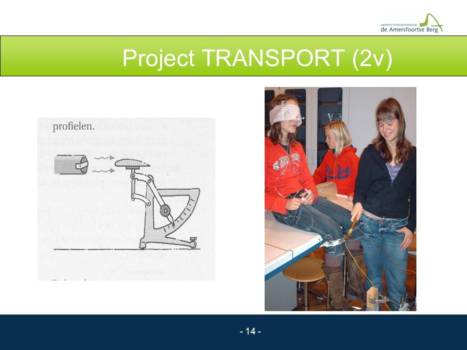 - 14 - Project TRANSPORT (2v)