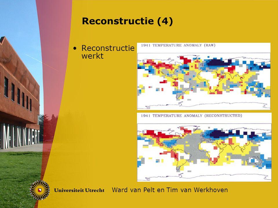 Reconstructie werkt Reconstructie (4) Ward van Pelt en Tim van Werkhoven